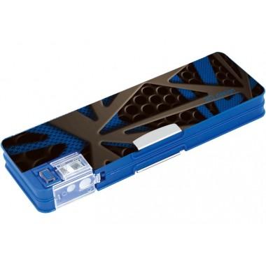"""Пенал пластиковий на магніті з точилкою, 2 відділення, """"3D"""", 7012 CF86613"""
