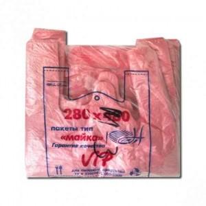 Пакет поліетиленовий майка №3