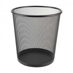 Корзина для бумаг 260x280мм метал., Черная