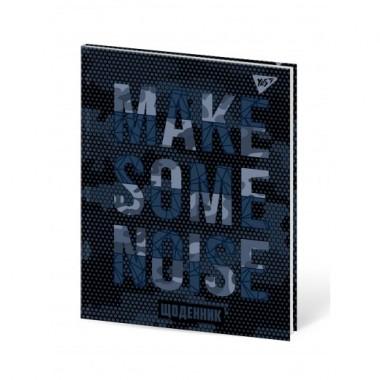 Щоденник шкільний YES жорсткий Noise софт-тач, конгрев