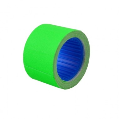 Цінник Datum флюо TCBL 26х16 мм 3,20 метра, прямокутний 200шт / рол зелений