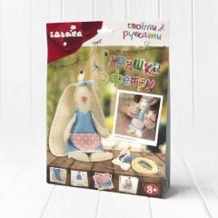 Набір для творчості з фетру Іграшка Ніжна зайка