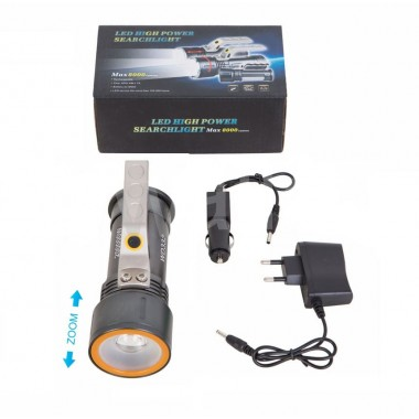 Ліхтарик металевий, zoom габаритний сигнал wd332