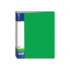 Папка А4 с 60 файлами Economix, зеленая E30606-04