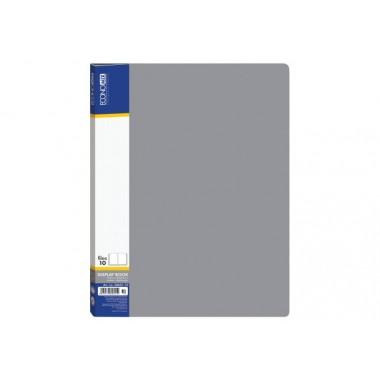Папка А4 с 20 файлами Economix, серая E30602-10
