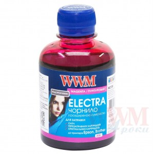 Чорнило WWM ELECTRA для Epson 200г Magenta водорозчинне (EU/M)