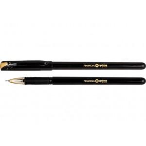 Ручка гелевая OPTIMA FINANTIAL 0,5 мм, пишет черным