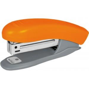 Скоросшиватель №10 Economix, до 16 л., пласт. корпус, оранжевый