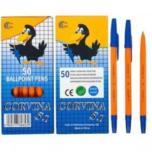 Ручка кулькова CORVINA 51 синя