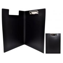 Папка-планшет А4 Economix з притиском, пластик, чорна