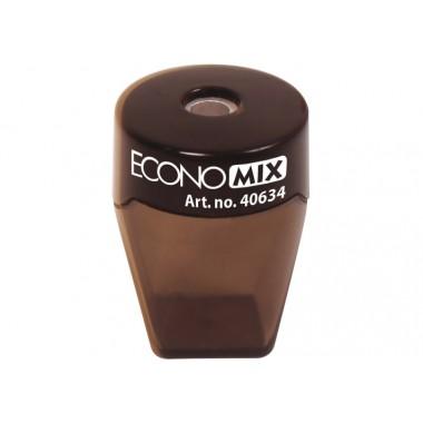 Точилка пластиковая с прозрачным контейнером Style, 1 лезвие, ассорти