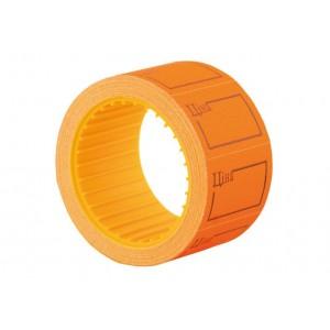 """Этикетки-ценники """"Цена"""" 30х20 мм Economix, 200 шт / рул., Оранжевые E21306-06"""