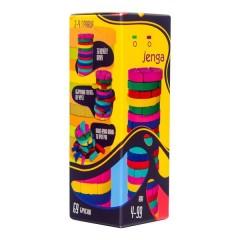 Настільна гра 30816 (укр) Colors Jenga, в коробці 19-6,7-6,7 см
