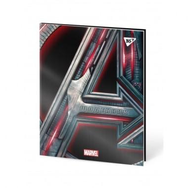 Щоденник шкільний YES інтегральний Marvel.Avengers ірідіум